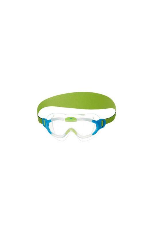 Speedo Bébi Úszószemüveg, Zöld Biofuse mask infant(uk), 8-087638029-UNI