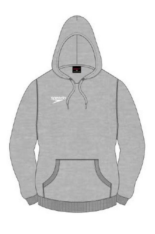 Speedo Unisex Pulóver, Szürke Pullover hoody(uk), 8-104294371-M