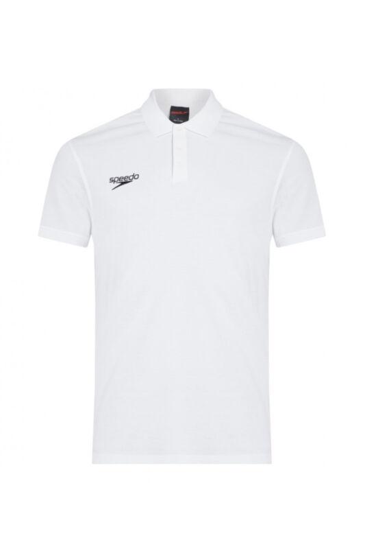 Speedo Unisex Póló, Fehér Polo shirt(uk), 8-104310003-M