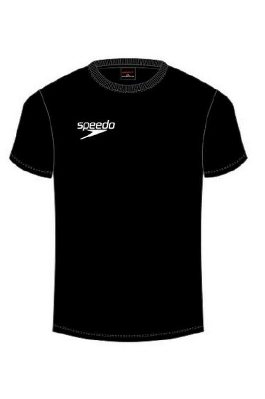 Speedo Unisex Póló, Fekete Small logo t-shirt(uk), 8-104330001-S
