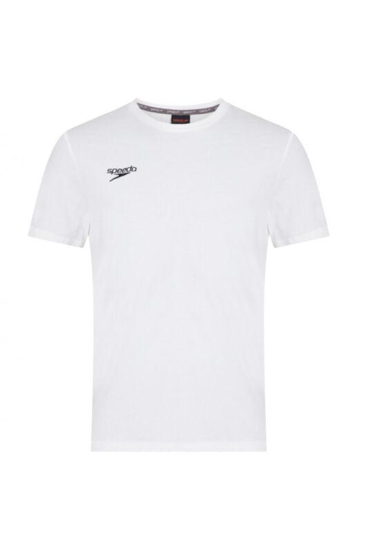 Speedo Unisex Póló, Fehér Small logo t-shirt(uk), 8-104330003-M