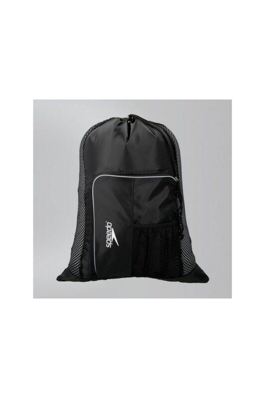 Speedo Unisex Hátizsák, Fekete Deluxe ventilator mesh bag(uk), 8-112343503-UNI