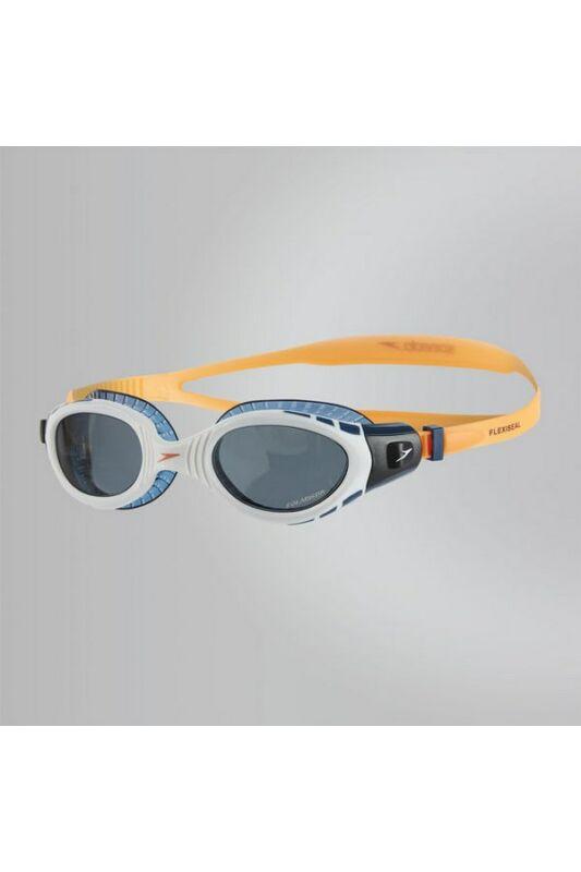 Speedo Unisex Úszószemüveg, Narancssárga Futura biofuse flexiseal tri(uk), 8-11256B985-UNI