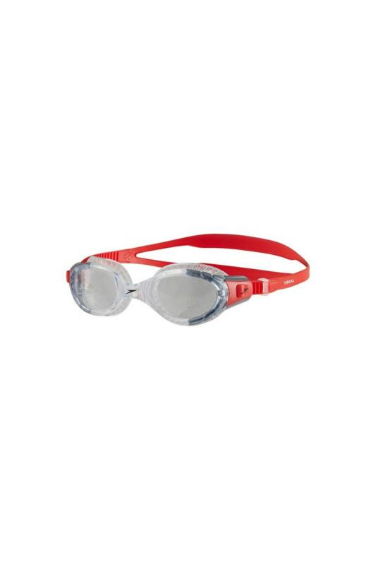 Speedo Unisex Úszószemüveg, Piros Futura biofuse flexiseal(uk), 8-11313B991-UNI