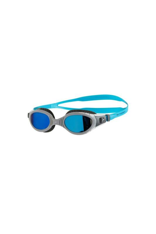 Speedo Unisex Úszószemüveg, Kék Futura biofuse mirror flexiseal(uk), 8-11316C110-UNI