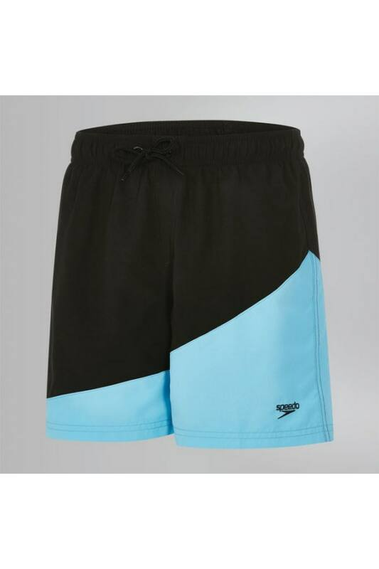 Speedo Gyerek Short, Fekete Colour block 15 wsht jm black(uk), 8-113336869-XL
