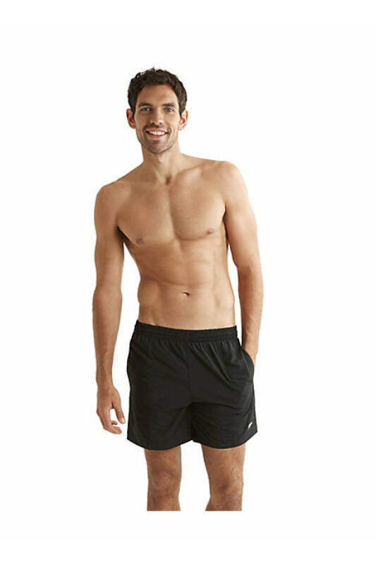 "Speedo Férfi Short, Fekete Solid leisure 16"""" watershort(uk), 8-156910001-L"