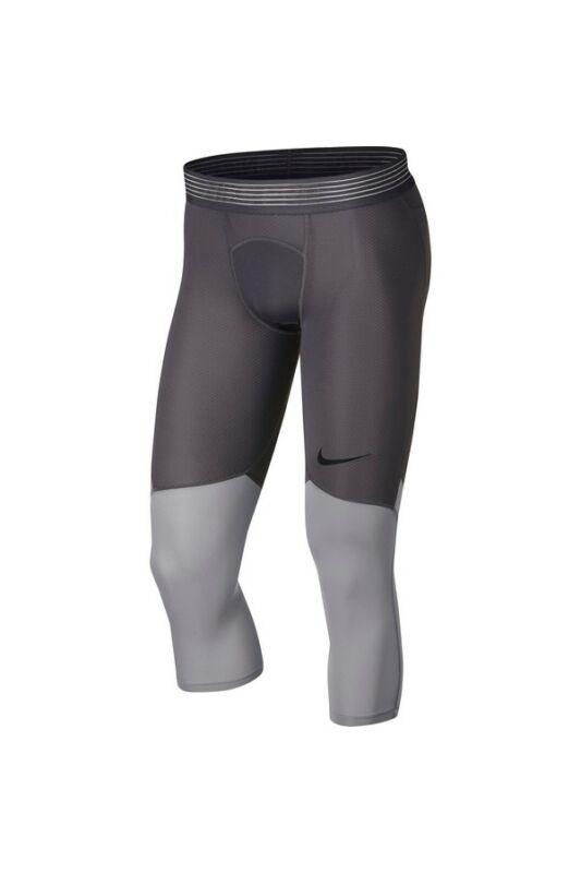 Nike Férfi Aláöltözet, Szürke Mens nike pro hypercool tights, 888297-061-S