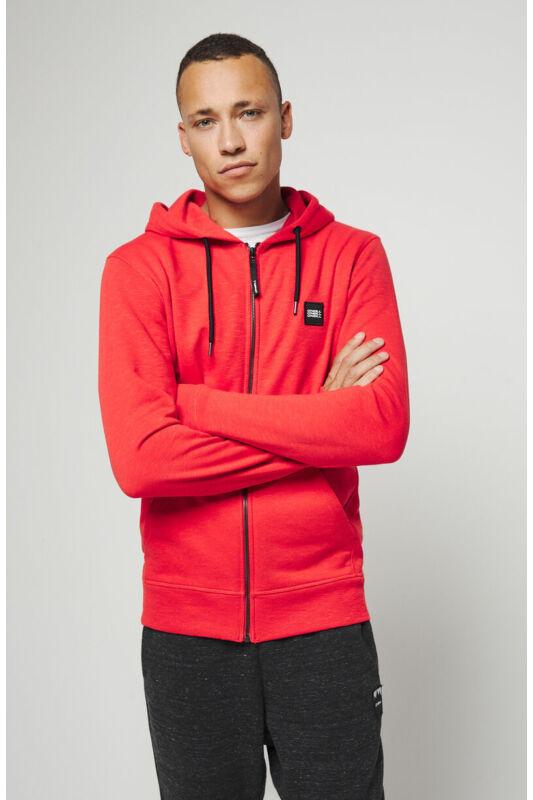 O'Neill Férfi Zip pulóver, Piros Lm the essential fz hoodie, 9P1428-3120-M