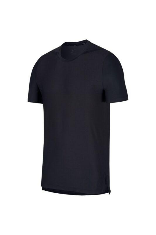 Nike Férfi Póló, Szürke M nk dry top ss tech pack, AJ7963-060-S