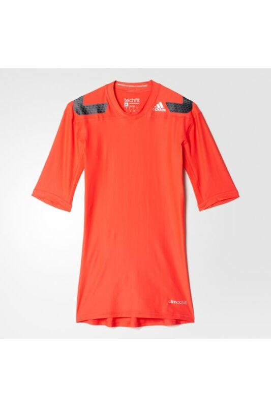 Adidas Férfi Aláöltözet, Piros Tf power ss, AY3668-M