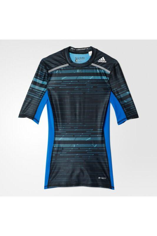 Adidas Férfi Aláöltözet, Kék Tf chill ss, AY8364-M