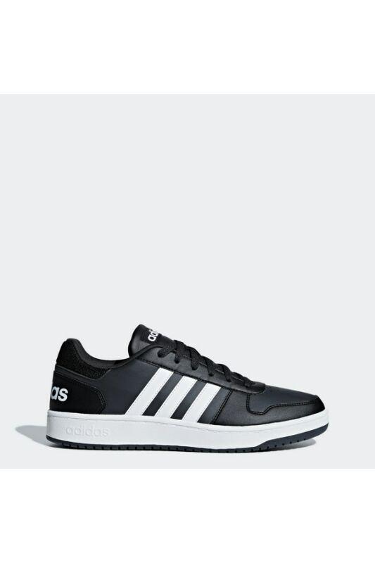 Adidas Férfi Utcai cipő, Fekete Hoops 2.0, B44699-10,5