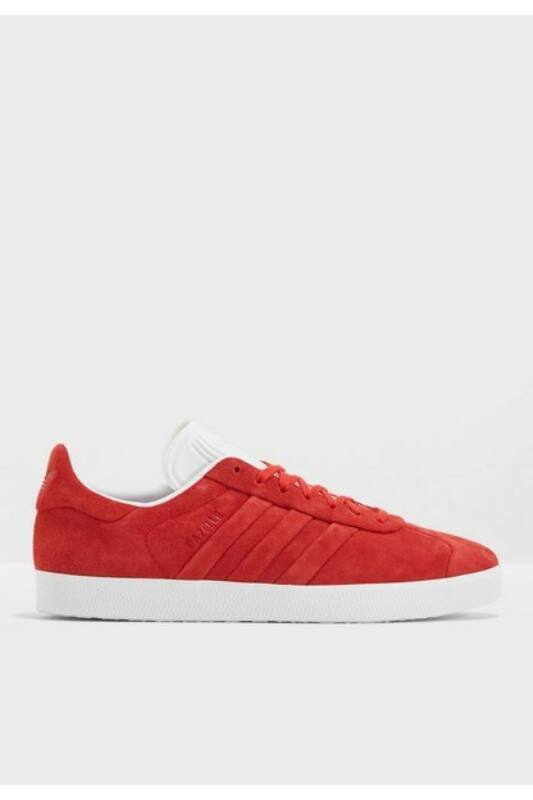 Adidas Unisex Utcai cipő, Piros Gazelle stitch and turn, BB6757-9