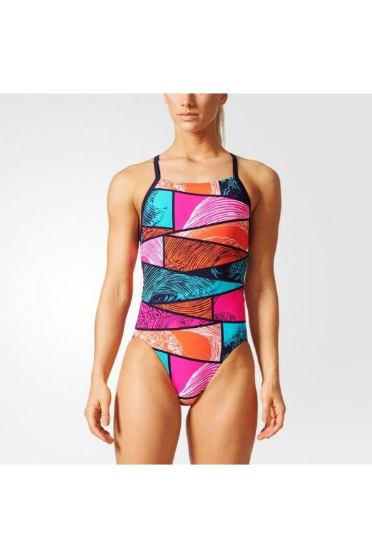 Adidas Női Úszódressz, Kék Perf swim inf+p, BP5288-38