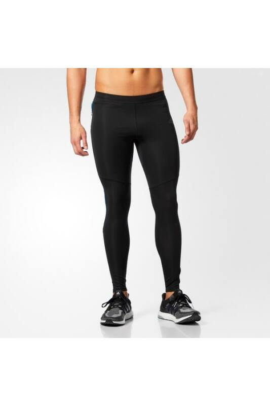 Adidas Férfi Leggings-fitness/futás, Fekete Rs lng tight m, BP8052-M