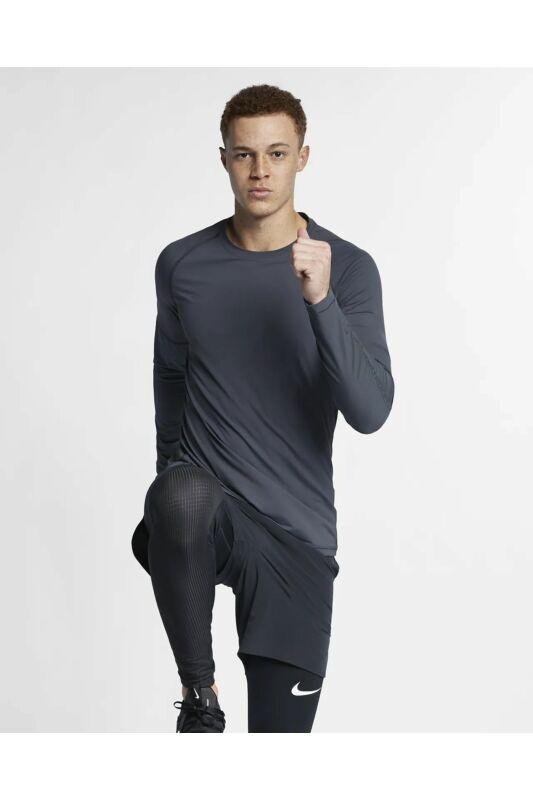 Nike Férfi Hosszú ujjú póló, Szürke M np ls top - tp, BQ0588-060-S