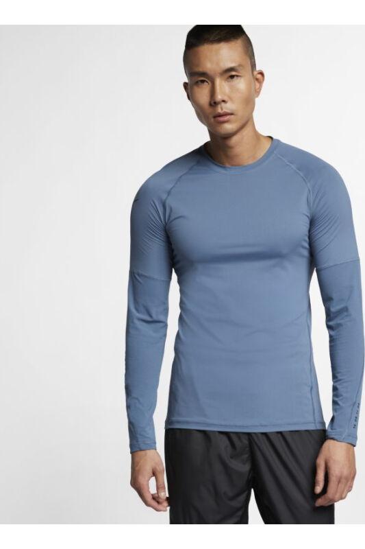 Nike Férfi Hosszú ujjú póló, Kék M np ls top - tp, BQ0588-418-S