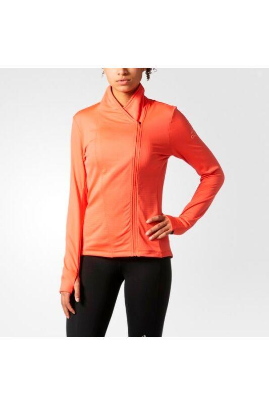 Adidas Női Zip pulóver, Narancssárga Clmht sn wrap w, BQ3915-L