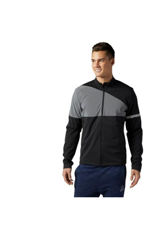 Reebok Férfi Zip pulóver, Fekete Osr icon jkt, BR2040-S
