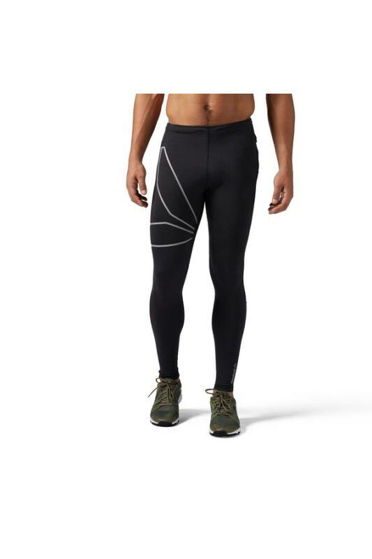 Reebok Férfi Leggings-fitness/futás, Fekete Osr tight, BR4409-S