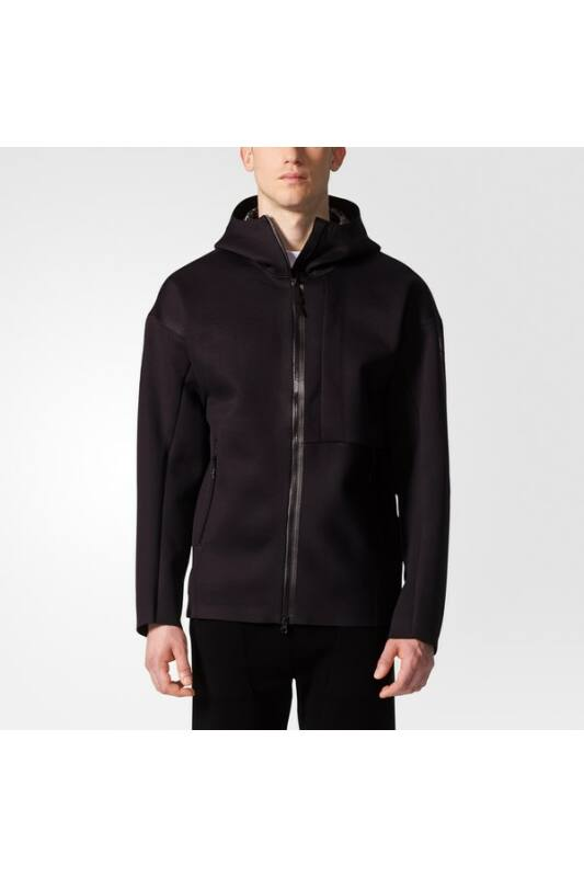 Adidas Férfi Kabát, dzseki, Fekete Icon kn jacket, BR5313-S