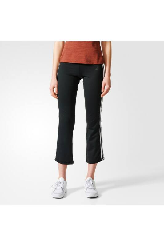 Adidas Női 3/4 nadrág, Fekete Brushed 3s pant, BR8770-S