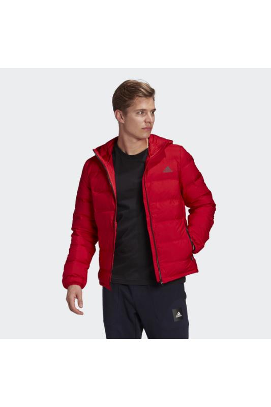 Adidas Férfi Kabát, dzseki, Piros Helionic ho jkt, BS2982-M