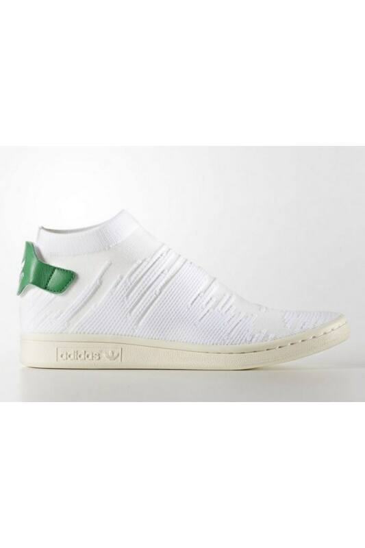 Adidas Unisex Utcai cipő, Fehér Stan smith sock pk w, BY9252-4