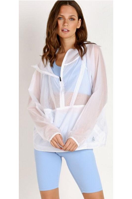 Reebok Női Kabát, dzseki, Fehér Packable woven anor, CF3203-M