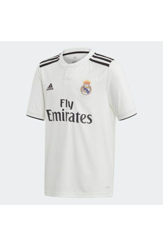 Adidas Gyerek Focimez, - short, Fehér Real h jsy y, CG0554-128