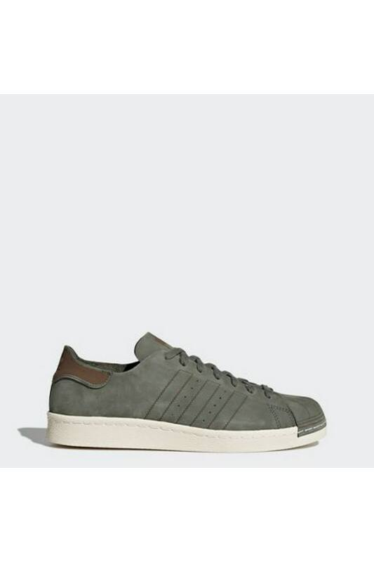 Adidas Unisex Utcai cipő, Züld Superstar 80s decon, CQ2211-13