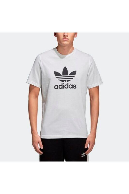 Adidas Férfi Póló, Fehér Trefoil t-shirt, CW0710-S