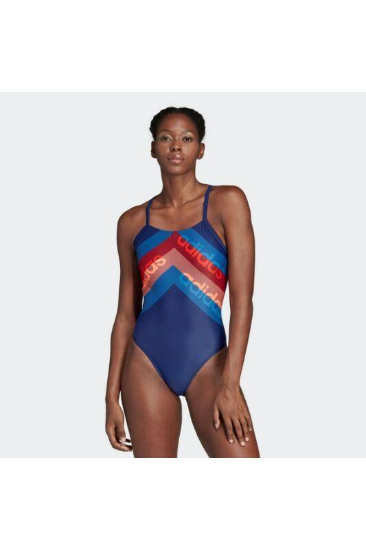 Adidas Női Úszódressz, Kék Fit 1pc lin, DH2403-38