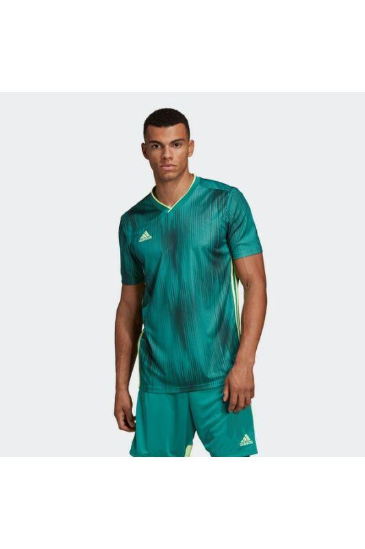 Adidas Férfi Focimez, - short, Zöld Tiro 19 jsy, DP3536-M
