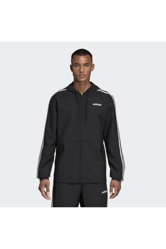 Adidas Férfi Zip pulóver, Fekete E 3s wb wvn, DQ3066-M