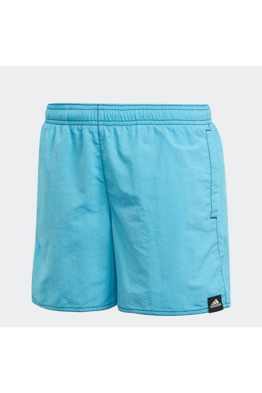Adidas Gyerek Short, Kék Yb solid sh sl      brcyan, DT4244-158