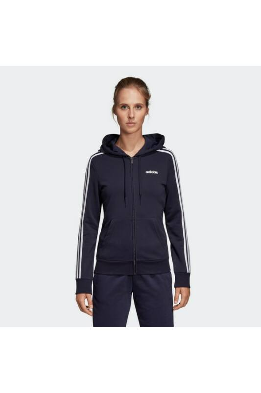 Adidas Női Zip pulóver, Kék W e 3s fz hd, DU0656-L