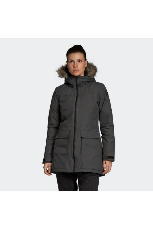 Adidas Női Kabát, dzseki, Szürke W xploric parka, DZ1498-M