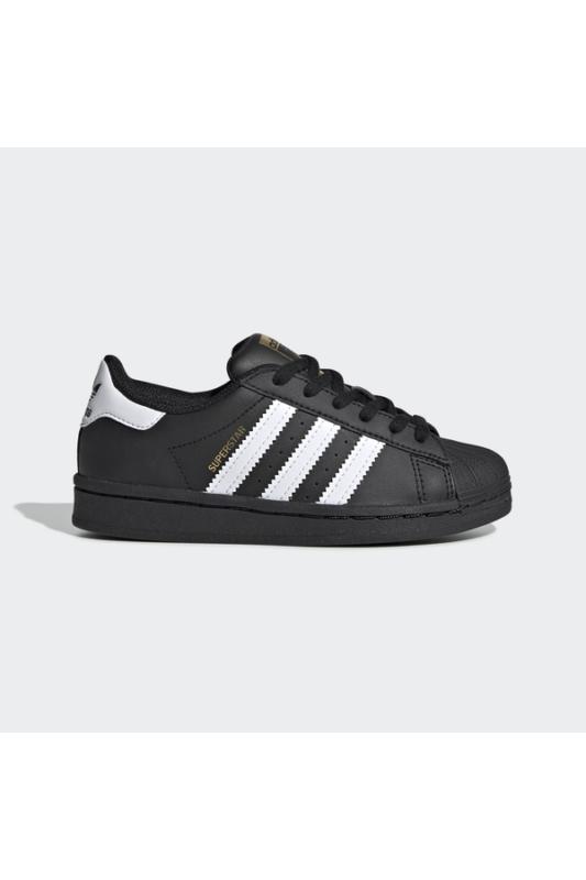 Adidas Gyerek Utcai cipő, Fekete Superstar c, EF5394-30
