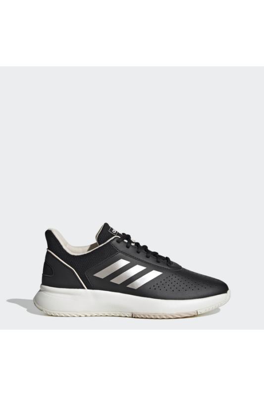Adidas Női Teniszcipő, Fekete Courtsmash, EG4204-6