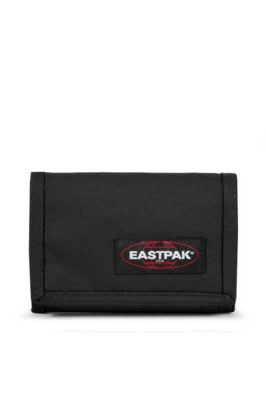 Eastpak Unisex Pénztárca, Fekete Crew single wallet, EK371008-ns