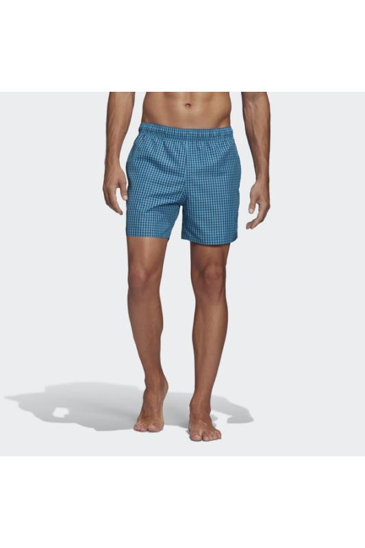 Adidas Férfi Short, Kék Check clx sh sl, FJ3394-4