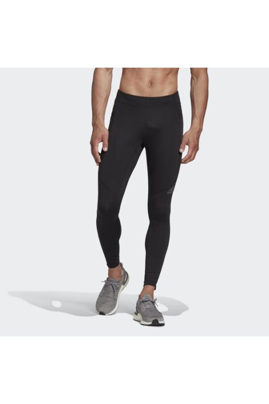 Adidas Férfi Leggings-fitness/futás, Fekete Saturday tight, FM7630-S