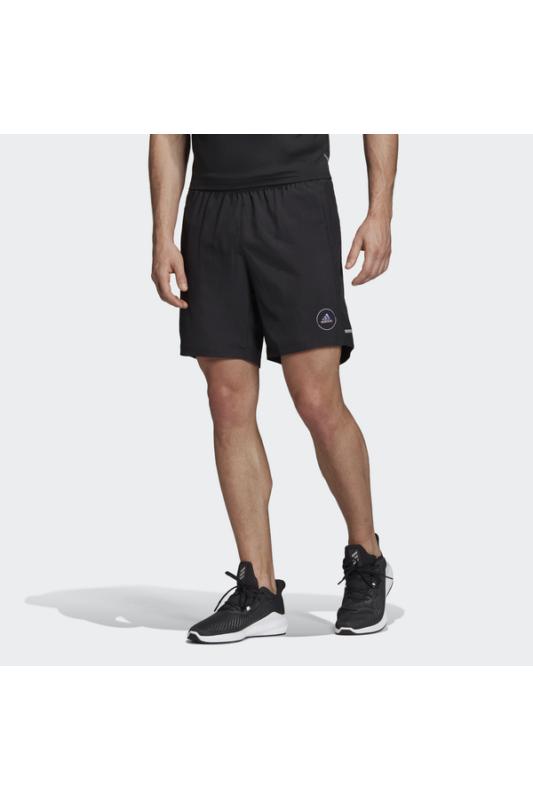 Adidas Férfi Short, Fekete Own the run sho, FS9814-L 7