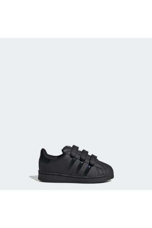 Adidas Bébi Utcai cipő, Fekete Superstar cf i, FV3658-21