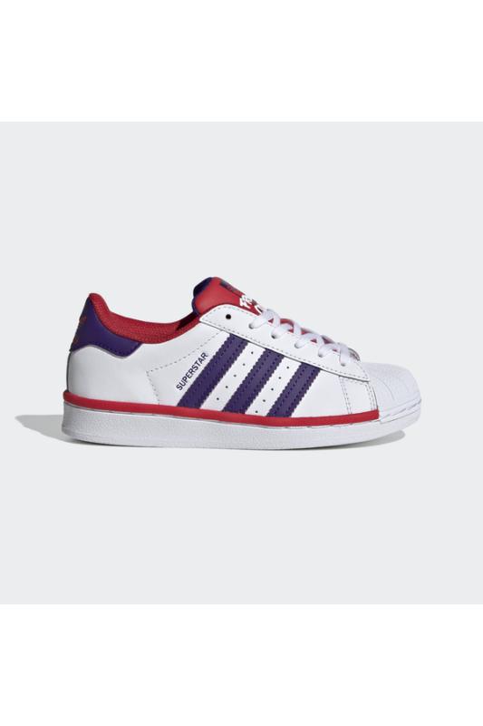 Adidas Gyerek Utcai cipő, Fehér Superstar c, FV3664-32