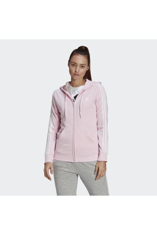 Adidas Női Zip pulóver, Rózsaszín W 3s ft fz hd, GL0805-2XL