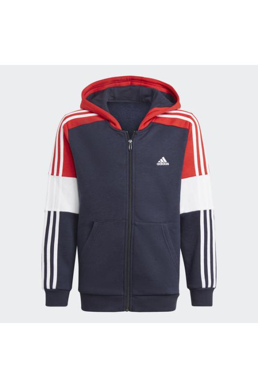 Adidas Gyerek Zip pulóver, Kék B cb fz hd, GN3986-152