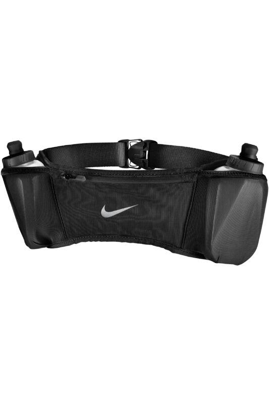 Nike Unisex Övtáska, Fekete Nike double pocket flask belt, N.000.1404.082-OS